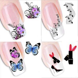 beautiful nail stickers