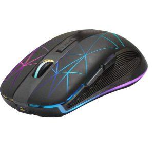 עכבר אלחוטי עם נורות LED צבעוניות
